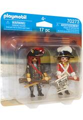Playmobil Pirate et Soldat 70273