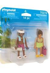 Playmobil Casal de Férias 70274