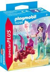 Playmobil Fee mit Baby-Drachen 70299