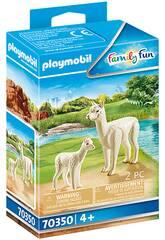Playmobil Alpaca con Bebé 70350