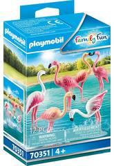 Playmobil Bandada de Flamencos 70351