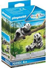 Playmobil Pandas con Bebé 70353