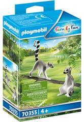 Playmobil Lemurs 70355