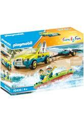Playmobil Coche de Playa con Canoa 70436