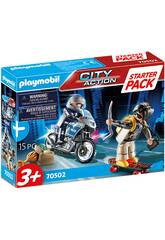 Playmobil Starter Pack Policía Set Adicional 70502