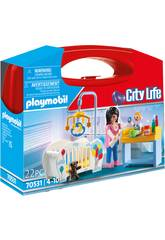 Playmobil Maletín Habitación Bebé 70531