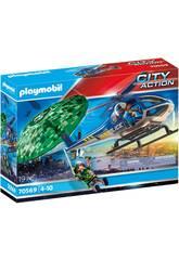 Playmobil City Action Persécution en Parachute 70569