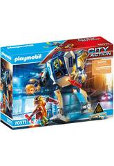 Playmobil City Action Robot operazione speciale 70571
