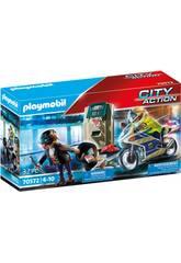 Playmobil City Action Motorbike Inseguimento del ladro di soldi 70572