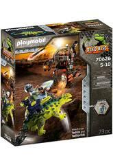 Playmobil Dinos Saichania Fighter Defense 70626