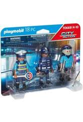 Playmobil Police Set Figurines 70669