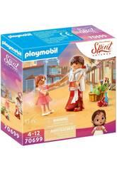 Playmobil Spirit Joven Forty y Milagros 70699