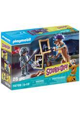 Playmobil Scooby-Doo Abenteuer mit Black Night 70709