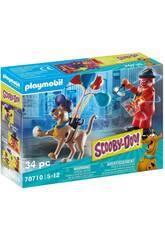 Playmobil Scooby-Doo Adventure avec Clown Fantôme 70710