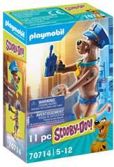 Playmobil Scooby-Doo Figura collezionabile della polizia 70714