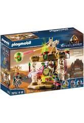 Playmobil Novelmore Sal'ahari Sands Tempio dell'esercito degli scheletri 70751