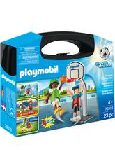 Playmobil grande valigia multisport 70313