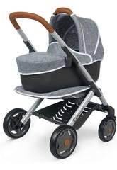 Carro de Muñecas Bebé Combi Confort Gris Smoby 253105