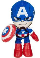 Peluche Marvel 25 cm. Capitán América Mattel GYT42