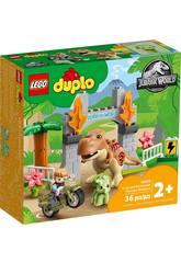Lego Duplo Jurassic World T-Rex et Triceratops Escape 10939