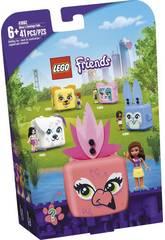 Lego Friends Le Cube Flamant Rose d'Olivia 41662