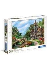 Puzzle 500 Old Waterway Cottage Clementoni 35048