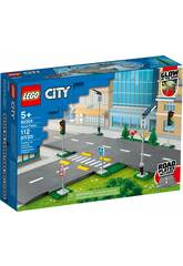 Lego City Town Placas de Carretera 60304