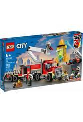 Lego City Unidad de Control de Incendios 60282