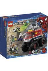 Lego Súper Héroes Marvel Monster Truck de Spiderman vs. Mysterio 76174