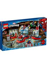 Lego Super-Héros Marvel L'attaque contre le repaire de Spider 76175