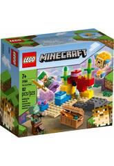 Lego Minecraft Le Récif de Corail 21164
