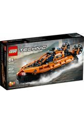 Lego Technic Aerodeslizador de Rescate 42120