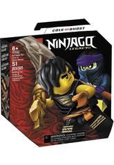 Lego Ninjago Set de bataille épique Cole contre le guerrier fantôme 71733