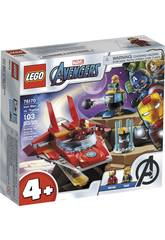 Lego Super Heróis Avengers Iron Man vs. Thanos 76170