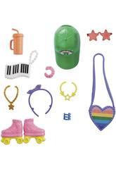 Barbie Moda Accessori Pattinaggio Mattel GRC12
