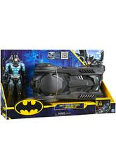 Batman Bat-Tech avec Batmobile 30 cm. Bizak 6192 7836