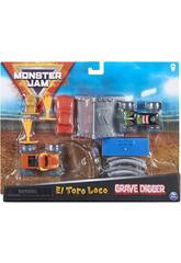 Monster Jam 1:70 Set de Trucos Bizak 6192 8725