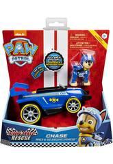 Patrulla Canina Vehículo con Figura Sonido Race and Go Bizak 6192 6784