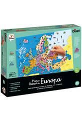 Casse-tête Carte des pays d'Europe Diset 68947