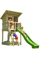 Terrain de jeu Beach Hut L avec balançoire individuelle Masgames MA801311