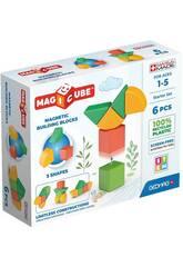 Geomag Magicube Green Starter Set 6 Piezas Toy Partner 200