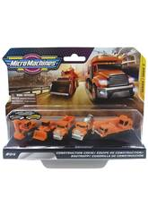 Micromachines World Pack 5 Véhicules Toy Partner MMW0065