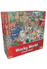 Puzzle 1.000 Wacky World París Goliath 919242