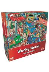 Puzzle 1.000 Wacky World Parking Goliath 919244