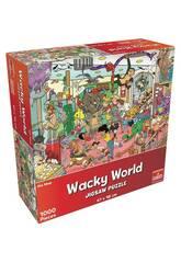 Puzzle 1.000 Wacky World Tienda De Mascotas Goliath 918557