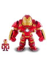 Figurine Avengers Hulkbuster en métal avec Iron Man Simba 253223002