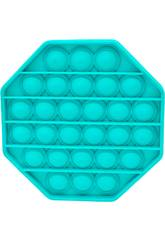 Pop It Octógono Azul