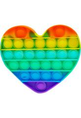 Pop It Rainbow C?ur