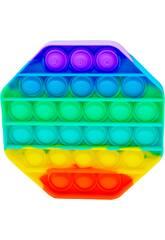 Pop It Octógono Rainbow