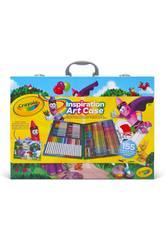Coffret Artist Inspiration 155 pièces Crayola 25-4450